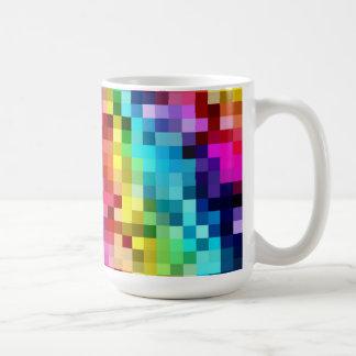 Rainbow Tiles Mug