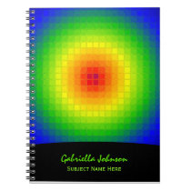 Rainbow Tiles Notebook