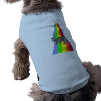 Rainbow to Heaven Cats T-Shirt