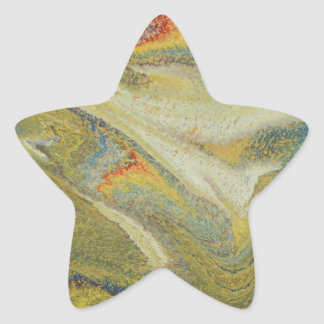 Rainbow Tornado Star Sticker