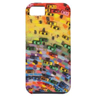 Rainbow Toy Cars iPhone SE/5/5s Case