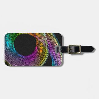 Rainbow Trail Luggage Tag