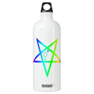 Rainbow Transgender Inverted Pentagram SIGG Traveler 1.0L Water Bottle