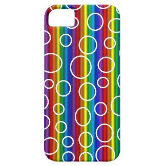Rainbow Transparent Bubbles iPhone Case