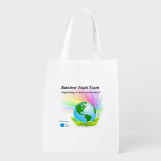 Rainbow Trash Team Reusable bag