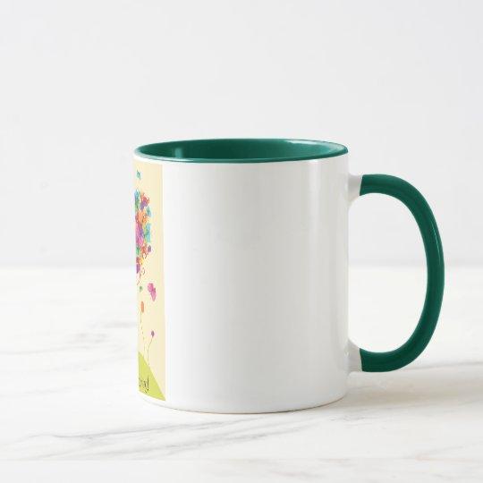 Rainbow Tree Coffee Mug