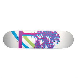 Rainbow Tree Custom Skateboard