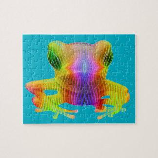 Rainbow Tree Frog Puzzle