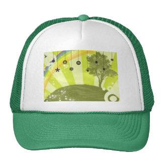 Rainbow Tree Hat