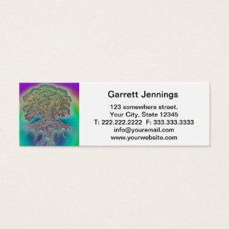 Rainbow Tree Mini Business Card