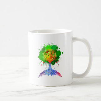 Rainbow Tree of Life Coffee Mug