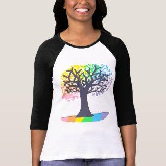 Rainbow Tree of Life T-Shirt