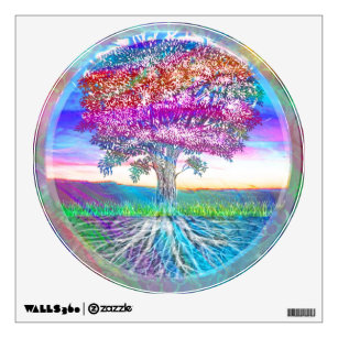 Rainbow Tree of Life Wall Decal  sc 1 st  Zazzle & Tree Of Life Wall Decals u0026 Wall Stickers | Zazzle