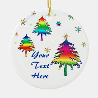 Rainbow Tree Ornament