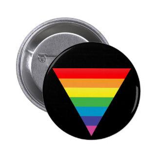 rainbow triangle. button