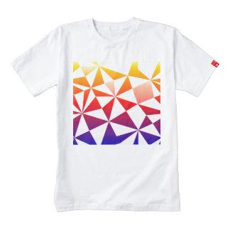 Rainbow Triangle Design Zazzle HEART T-Shirt