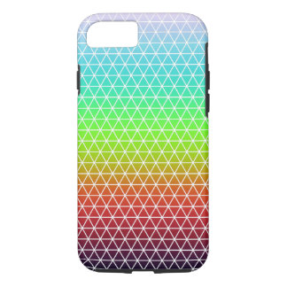 Rainbow Triangle Tessellation Geometric Pattern iPhone 8/7 Case