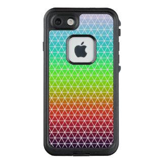 Rainbow Triangle Tessellation Geometric Pattern LifeProof FRĒ iPhone 7 Case