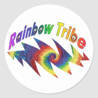 Rainbow Tribe Decals or Sticker Sheets