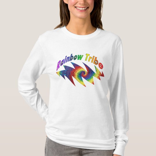 Rainbow Tribe Hoody Long Sleeve Shirt