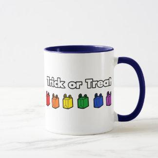 Rainbow Trick or Treat Mug