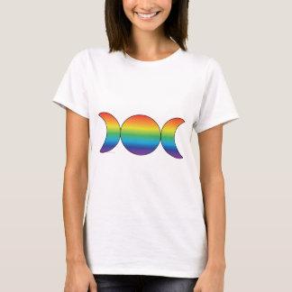 Rainbow Triple Moon T-Shirt