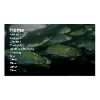 Rainbow Trout Business Card Templates