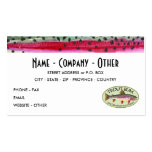 Rainbow Trout Business Cards