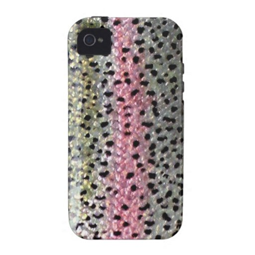 Rainbow Trout by PatternWear© Case-Mate iPhone 4 Cover