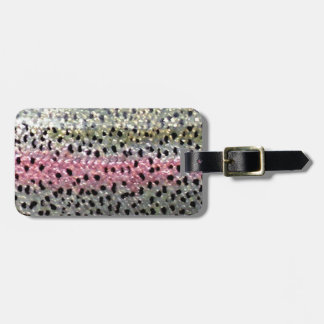 Rainbow Trout by PatternWear© Luggage Tag