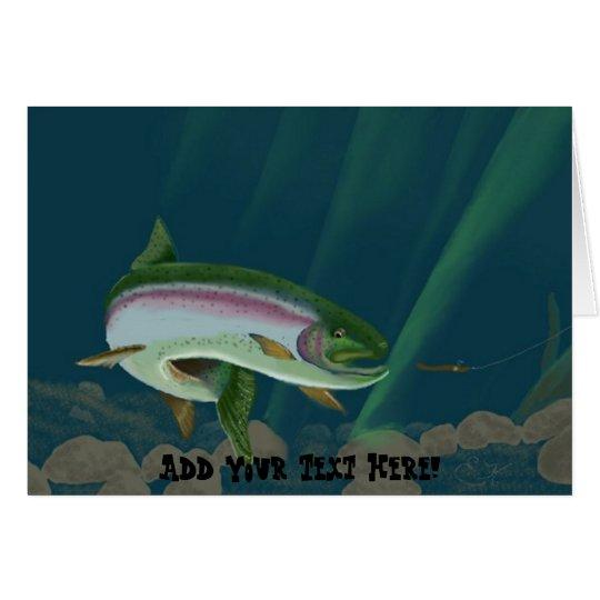 Rainbow Trout Card