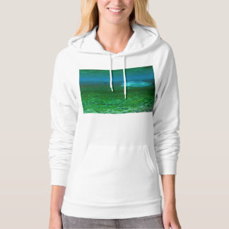 Rainbow Trout chasing a fly Hoody