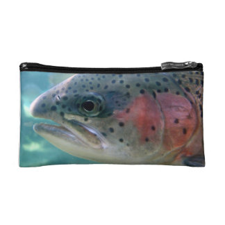 Rainbow Trout Cosmetic Bags