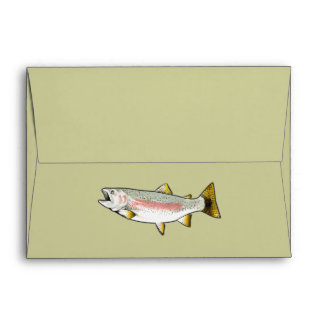 Rainbow Trout Envelope