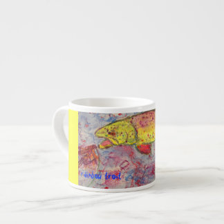 rainbow trout espresso cup