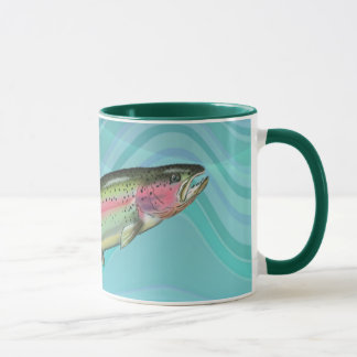 RAINBOW TROUT FISH by SHARON SHARPE Mug