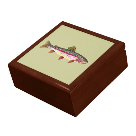 Rainbow Trout Fish Gift Box
