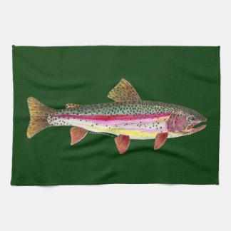 Rainbow Trout Fish Kitchen Towel