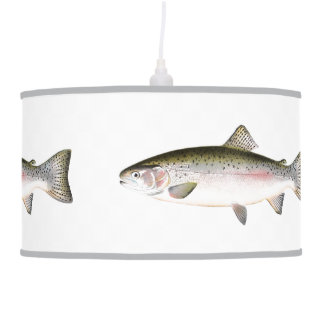 Rainbow Trout Fish Ceiling Lamps