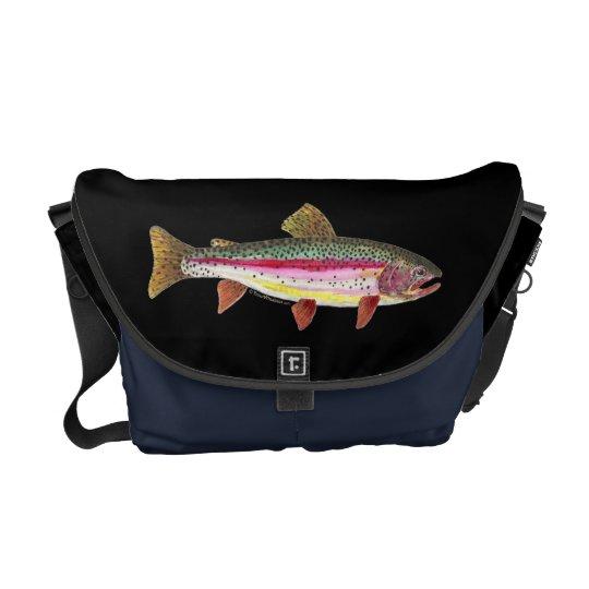 Rainbow Trout Fish Messenger Bag