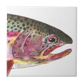 Rainbow Trout Fish Tile