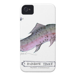 Rainbow Trout fish, tony fernandes iPhone 4 Cases