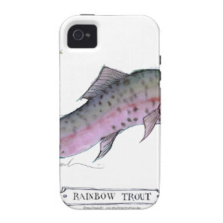 Rainbow Trout fish, tony fernandes Vibe iPhone 4 Cover