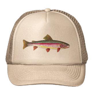 Rainbow Trout Fish Trucker Hat