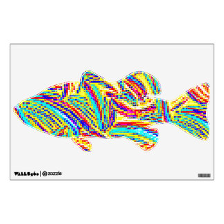 RAINBOW TROUT FISH WALL DECAL