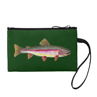 Rainbow Trout Fishing Coin Purses