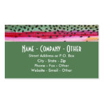 Rainbow Trout Fishing Double-Sided Standard Business Cards (Pack Of 100)