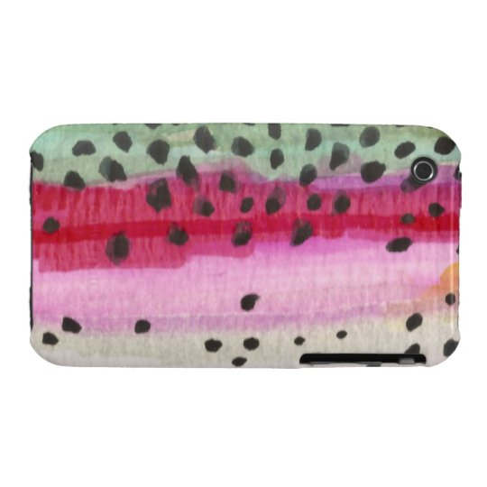 Rainbow Trout Fishing Case-Mate iPhone 3 Case