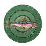 Rainbow Trout Fishing Dartboards