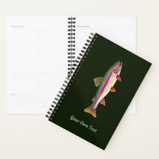 Rainbow Trout Fishing, Ichthyology Handsome Planner
